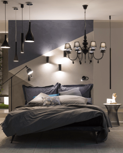 Bedroom for IDEAL LUX Milano '17